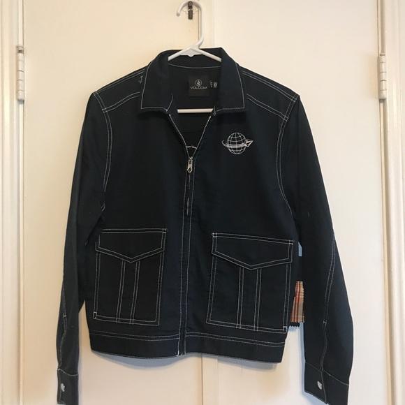 Volcom Jackets & Blazers - Navy Volcom Frochickie Jacket - XS
